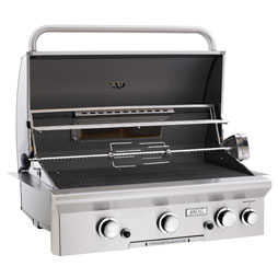 "American Outdoor Grills 30"" Grill Head with Back Burner"