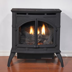 Empire Cast Iron Stove, Matte Black